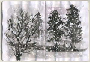 SnowSketchBook