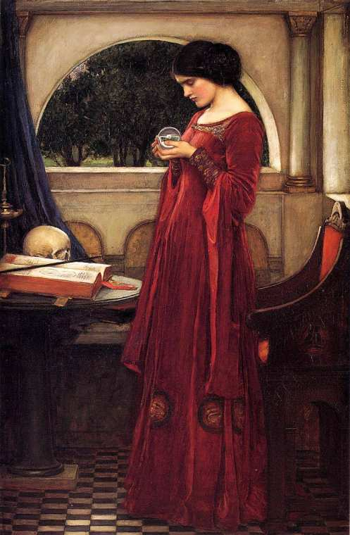 JohnWilliamWaterhouse-TheCrystalBall1