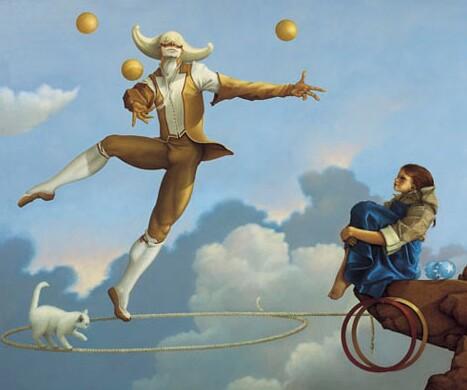 juggler michael parkes