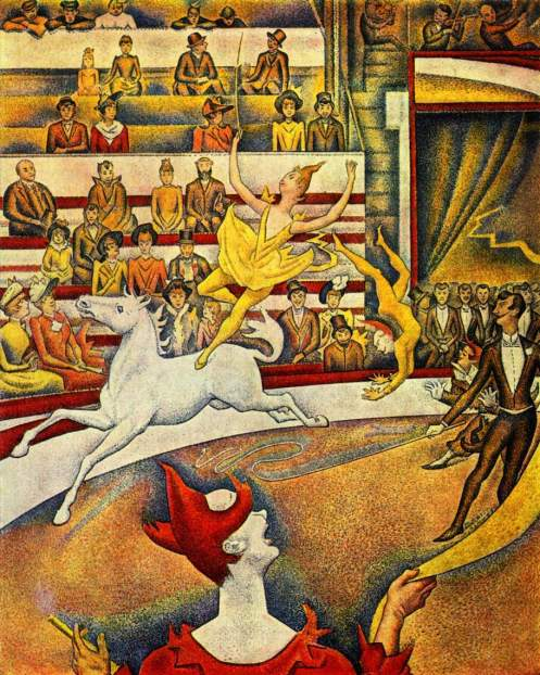 The Circus Georges Seurat