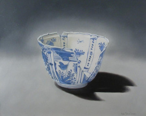 Broken Chinese Porcelain by Jan Teunissen